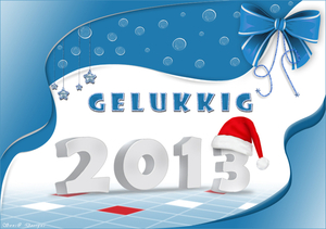 nieuwjaarkaartje 2013