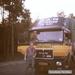 Piet Ellens met demo truck