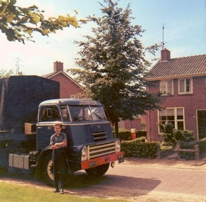 DAF 2000 DO met Klaas Wolthuis als chauffeur