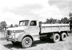 Krupp Mustang K8 6x4 1956