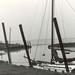 Oude haven Paal - 1972 artistieke foto