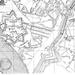 Molenvest op oude kaarts , rechts staat Molenhoek geschreven