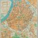 Stadsplan met vesten 1950, een groene gordel verween