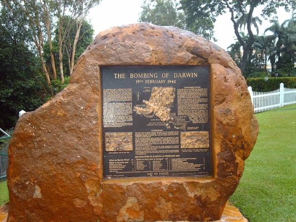 Darwin oorlogsmonument