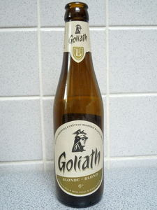 bouteille Goliath blonde