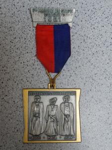 médaille Géants de Wavre