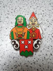 pin's Bergen op Zoom Jan en Trui