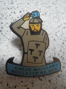 pin's Colin Maillard Huy
