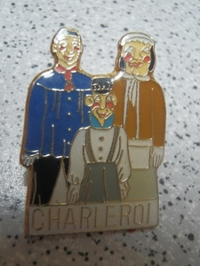 pin's Géants de Charleroi