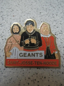 pin's Géants de St-Josse-ten-Noode
