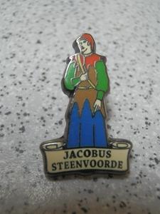 pin's Jacobus de Steenvoorde