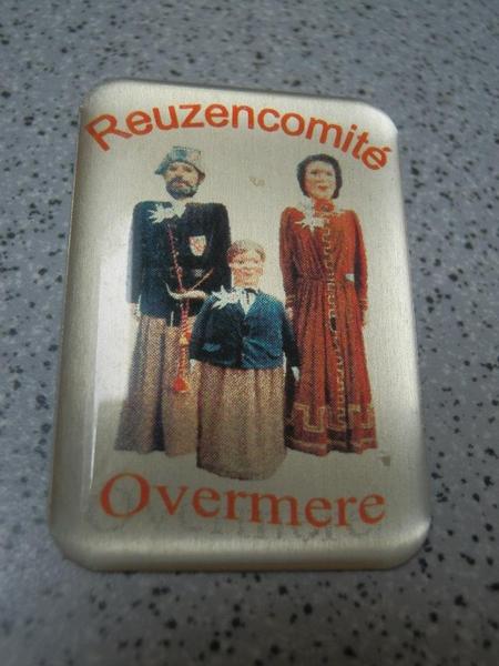 pin's Reuzencomité Overmere