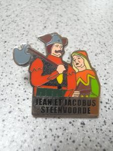 pin's Steenvoorde Jean et Jacobus