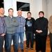 De winnaars 'Miracoli' en samenstellers v. d. quiz