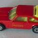 Matchbox Bulgaria Toyota Supra red&yellowInt Jacobs 5arch P102097