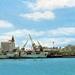 Maputo haven , oude foto