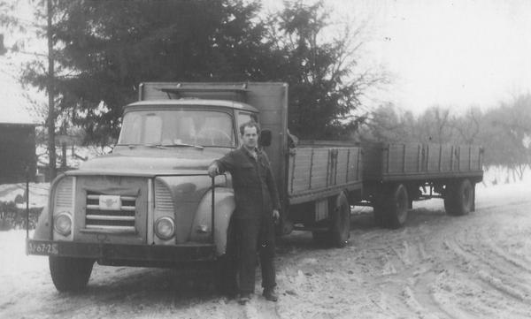 DAF 120 met neus, toch wel een mooie truck