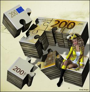 200 € werkje