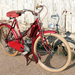Poulain motor op Selection fiets 1952