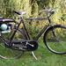 Trojan hulpmotor op een Raleigh fiets 1957
