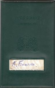 Werkboekje Anne Finnema