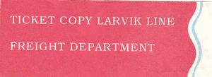 Larvik Line Noorwegen