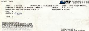Ticket Larvik Line