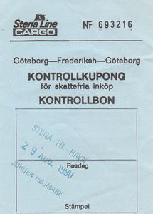Gotteborg - Frederikshavn   Ferry