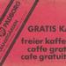 Transitgarden gratis koffie