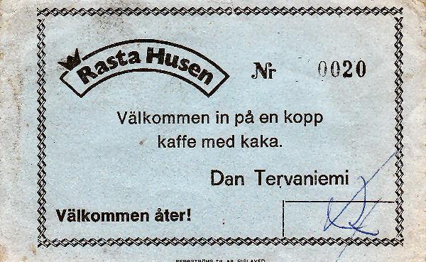 Gratis koffie Rasta Husen