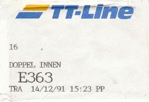 sleutel TT Line  m.s. Peter Pan
