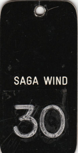 Sleutel Saga Wind van de TT line