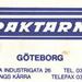 Fraktarna - Goteborg Cantine bon