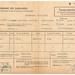 Transportvergunning naar Duisland in 1956