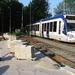 Nieuwe halte Dillenburgsingel in aanbouw 25-05-2012