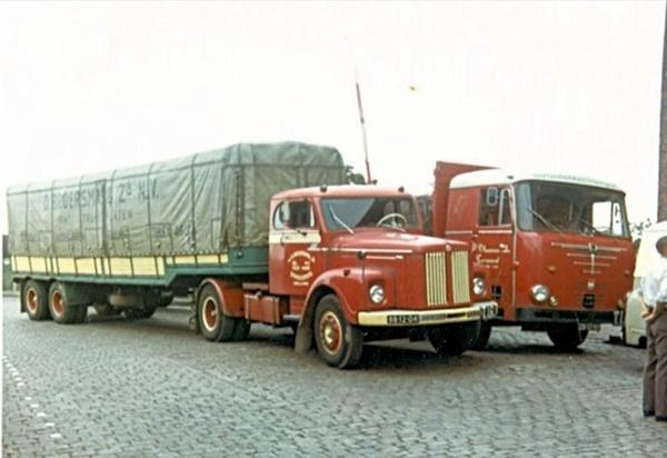 Scania en Bussing