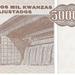 Angola 1995 500000 Kwanzas Reajustados b