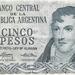 Argentinië 1969 5 Pesos a