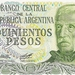 Argentinië 1977-1979 500 Pesos a