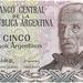 Argentinië 1983-1984 5 Pesos Argentinos a