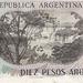 Argentinië 1983-1984 10 Pesos Argentinos b