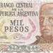Argentinië 1976-1979 1.000 Pesos a