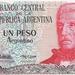 Argentinië 1983 1 Peso a