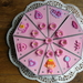 taart voor Evie's 6de verjaardag