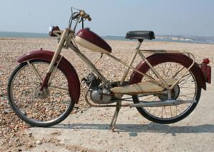 Mercury Mercette 50cc 4 versnellingen 1957