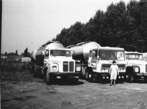1975 Melkweg Zwolle nrs 15, 11 en 12