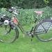 Flink op een NSU fiets