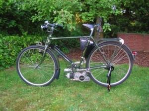 JLO. F48 1953 48cc op een Express herenfiets