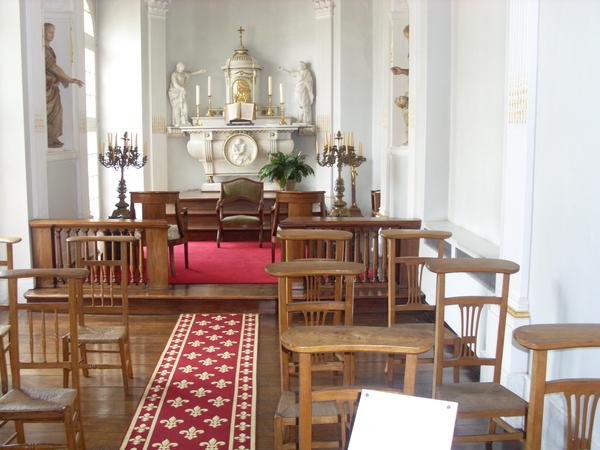 kapel in het kasteel