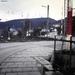 de spoorweg overgang naar de Heidelberg